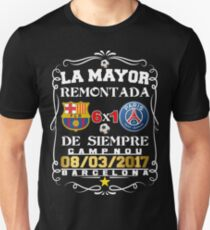 Barcelona La Mayor Remontada  Unisex T-Shirt