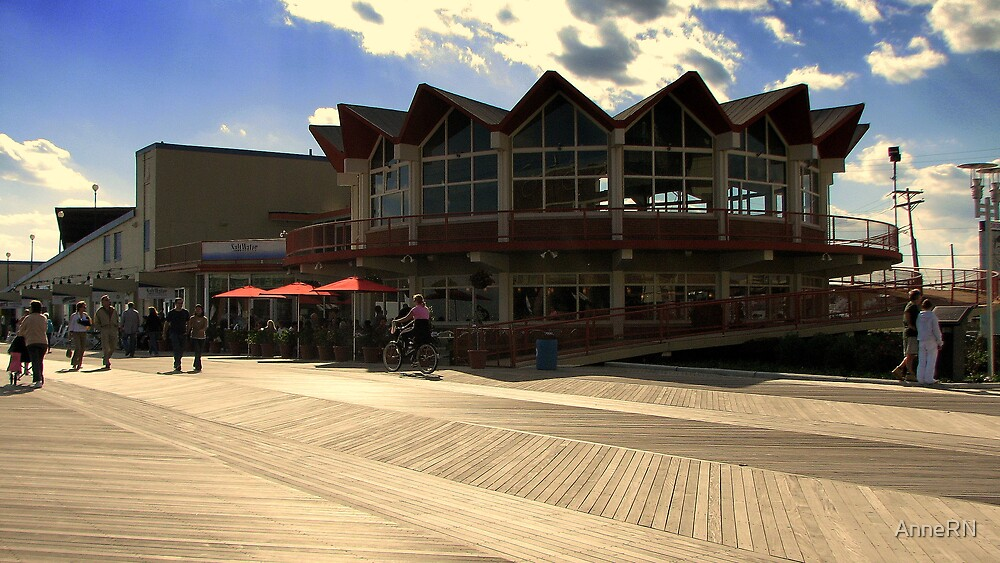 Asbury Park, NJ - The Boardwalk by AnneRN