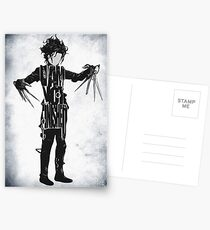 Edward Scissorhands Postcards