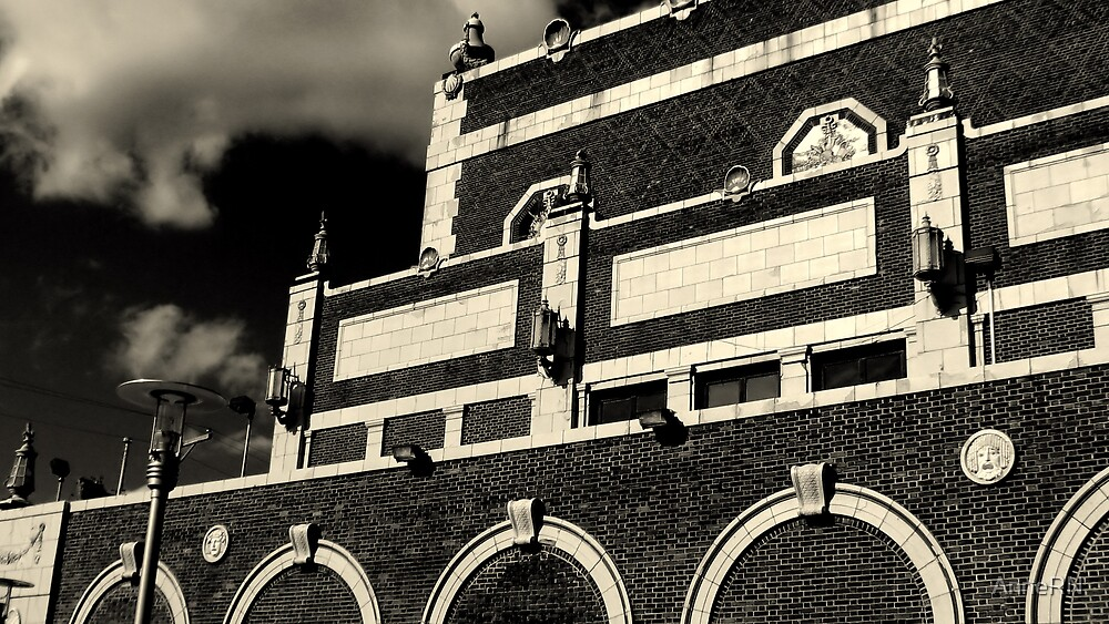 Asbury Park, NJ - The Paramount Theater by AnneRN