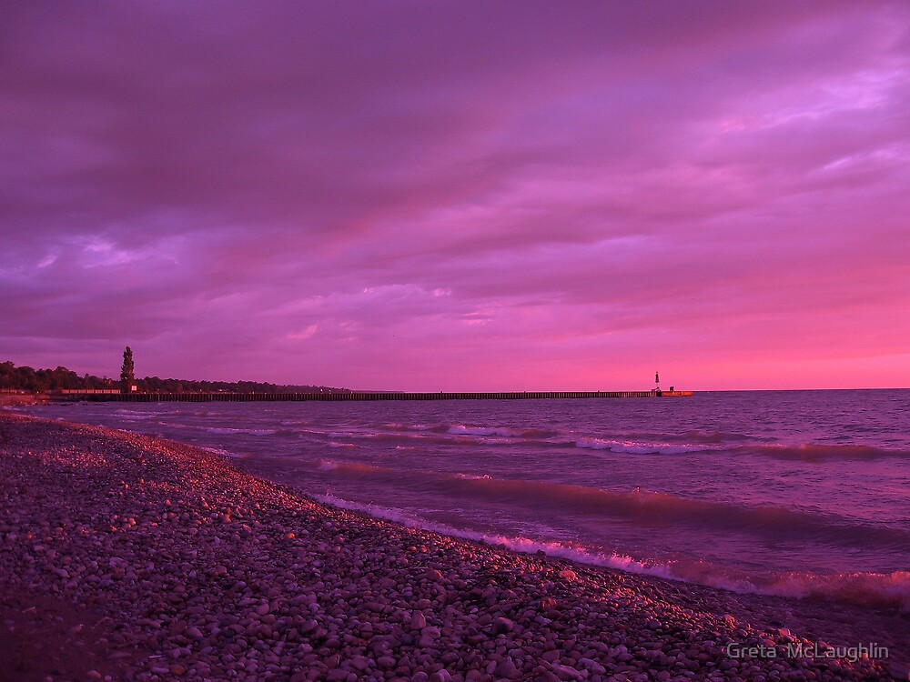 Lake Huron, by Greta  McLaughlin