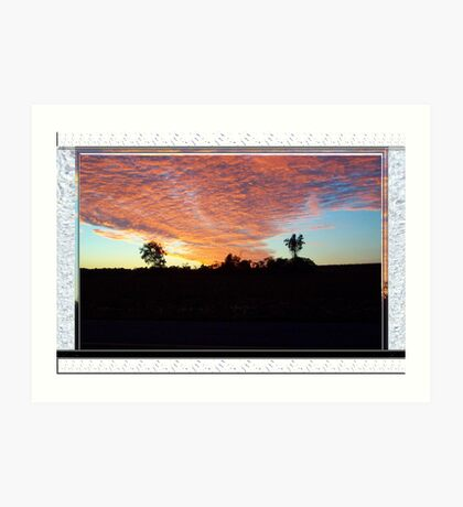 Sailors Take Warning Art Print