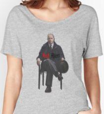 Raymond 'Red' Reddington - Red Alert Print Women's Relaxed Fit T-Shirt