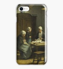 David Adolph Constant Artz - In The Orphanage At Katwijk-Binnen iPhone Case/Skin