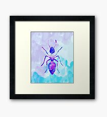 Abstract Ant  Framed Print