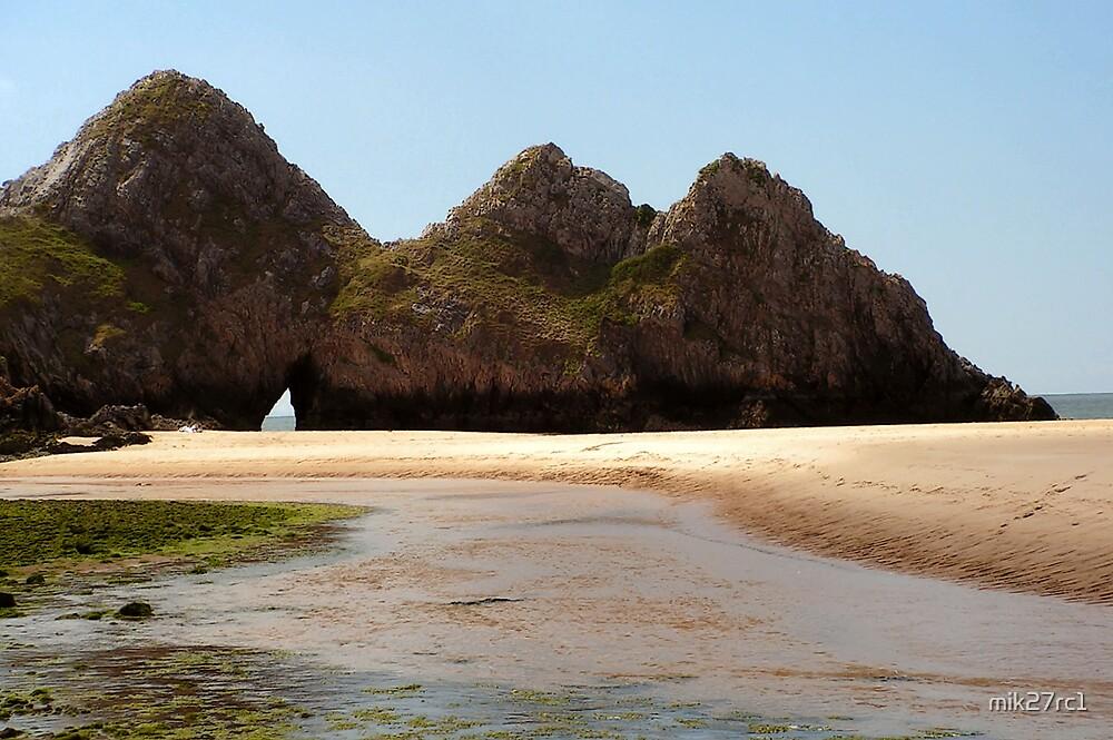 3 cliffs bay, penmaen by mik27rc1