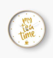 My tea time - 6 pm Clock