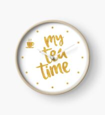 My tea time - 10 pm Clock