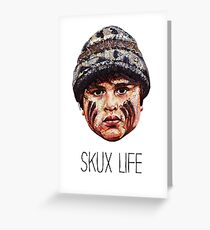 Ricky Baker - Skux Life Greeting Card