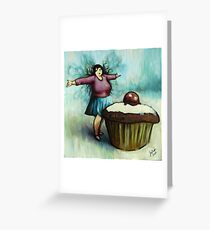 The Fairy of Cakes Greeting Card