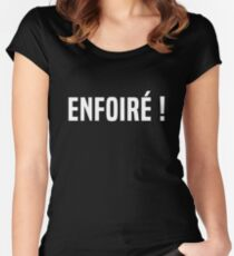 Enfoiré ! Women's Fitted Scoop T-Shirt
