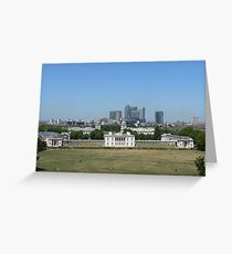 Across Greenwich Park ..... Greeting Card