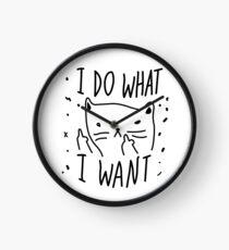 CAT - I DO WHAT I WANT Clock