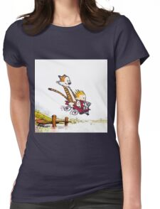 Jump To The Lake Womens Fitted T-Shirt