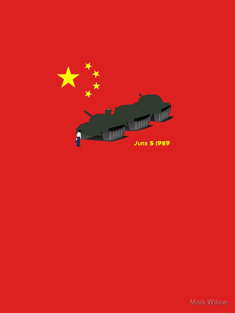 Tank Man (Unknown Rebel) - China, Tiananmen Square protest  by Sparks68