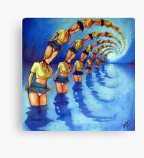 Bathers Singularity Canvas Print