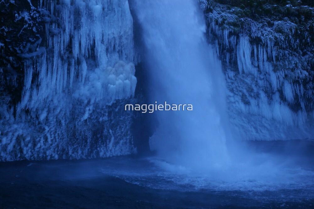 Frozen Falls by maggiebarra