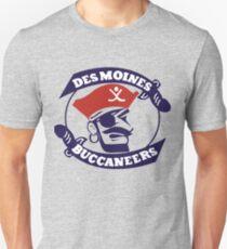 des moines buccaneers jersey T-Shirt