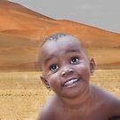 Namebian Child by Gilberte