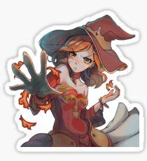 DotA 2 Lina Anime Style! Sticker