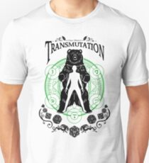 Transmutation- D&D Magic School Series : Black T-Shirt