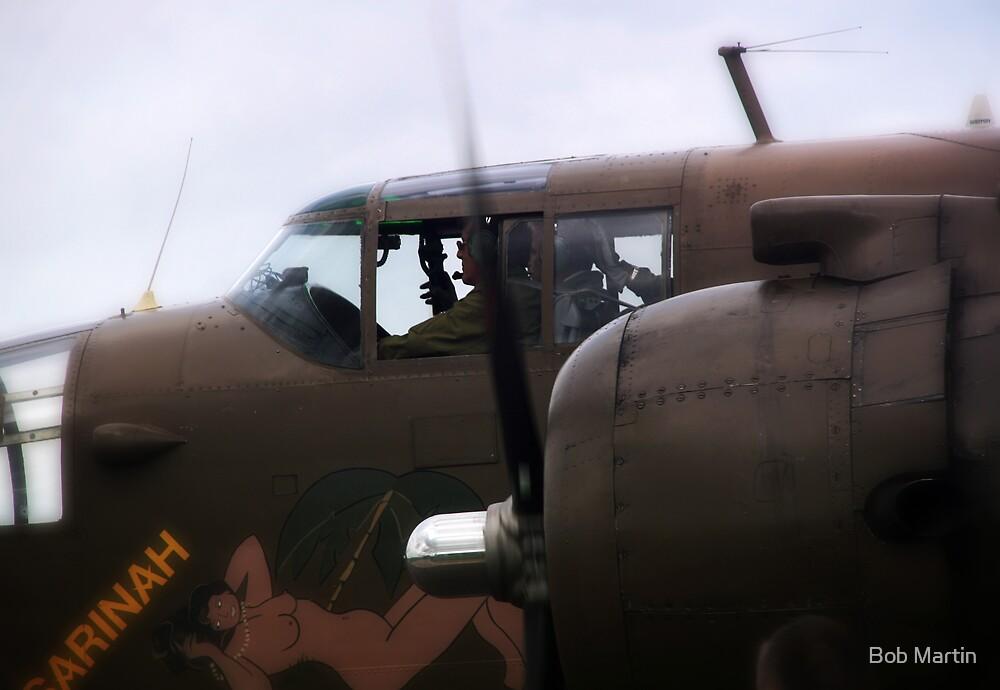 B-25 Mitchell bomber  by Bob Martin