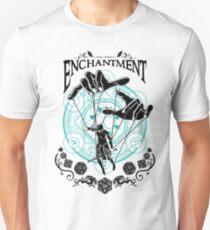 Enchantment - D&D Magic School Series : Black T-Shirt