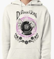 Divination - D&D Magic School Series : Black Pullover Hoodie