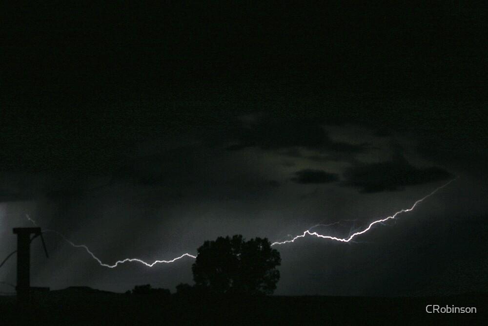 Lightning Strikes by CRobinson