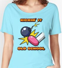 Kickin' It Old School Women's Relaxed Fit T-Shirt