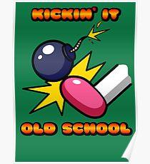 Kickin' It Old School Poster