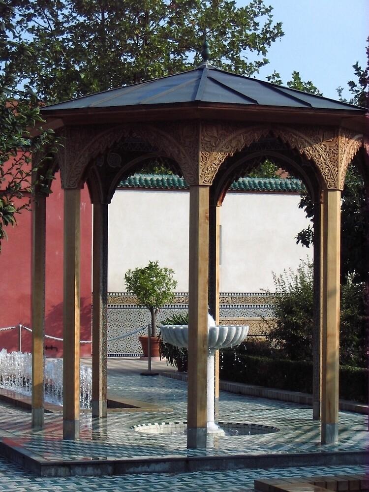 Fountain in the Oriental Garden by ullahennig