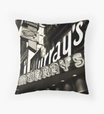 Murray's Cocktail Lounge Throw Pillow
