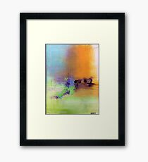 LORD OF LIFE Framed Print