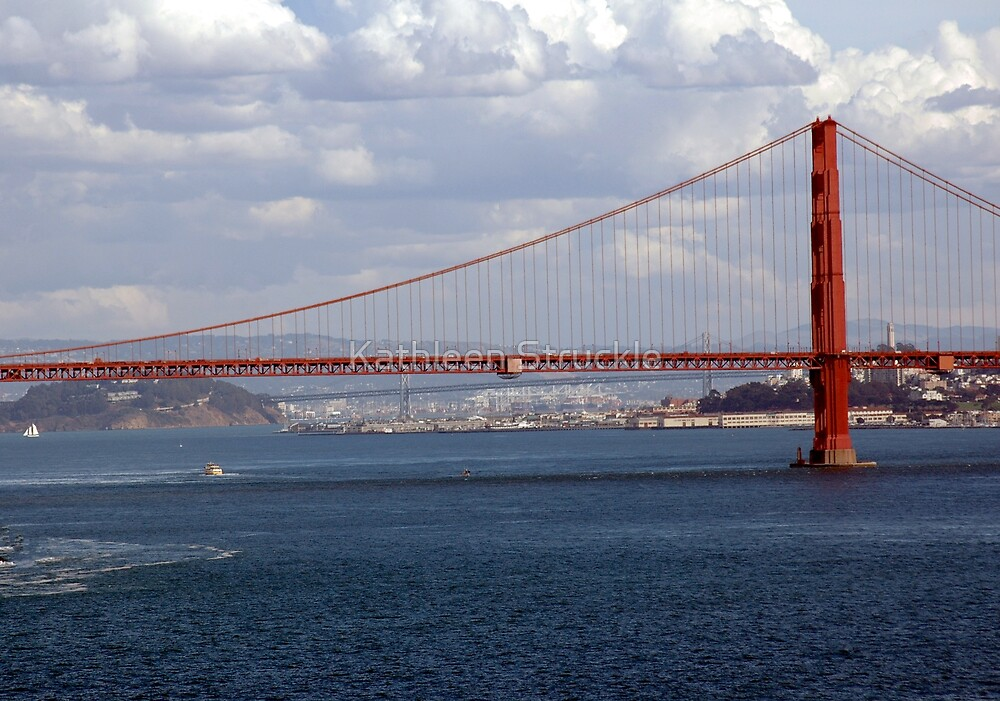 Golden Gate Bridge by Kathleen Struckle