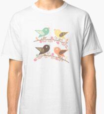 Four birds Classic T-Shirt