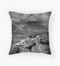 Fremont Indian Pictographs Throw Pillow