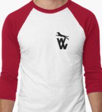 Wolves 'WW' 1970-74 Men's Baseball ¾ T-Shirt