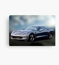 2014 Chevrolet C7 Corvette Stingray Canvas Print