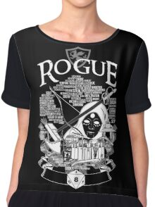 RPG Class Series: Rogue - White Version Chiffon Top