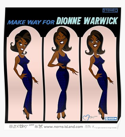MAKE WAY FOR DIONNE WARWICK Poster