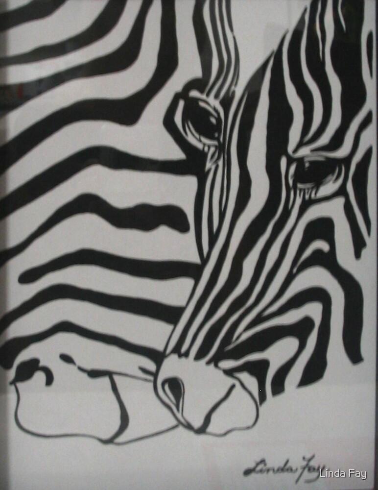 Zebras by Linda Fay