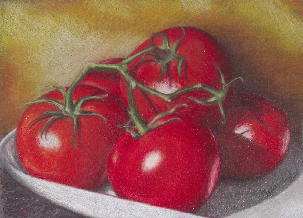 Lovely Tomatoes by Belinda Lindhardt
