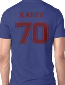 Alex Karev Jersey Unisex T-Shirt