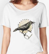 Crows love CAW-fee Women's Relaxed Fit T-Shirt