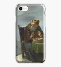 David Teniers The Younger - Winter iPhone Case/Skin