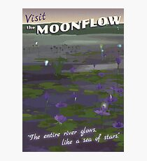 The Moonflow [FFX] - Vintage Travel Poster Photographic Print