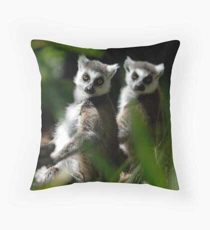 Caught Out Throw Pillow