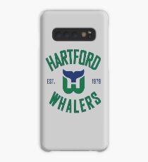 Hartford Whalers CT Hülle & Klebefolie für Samsung Galaxy