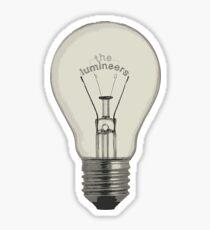 The lumineers Sticker